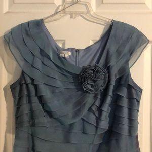 Like New - Plus Size Iridescent Blue Formal Dress